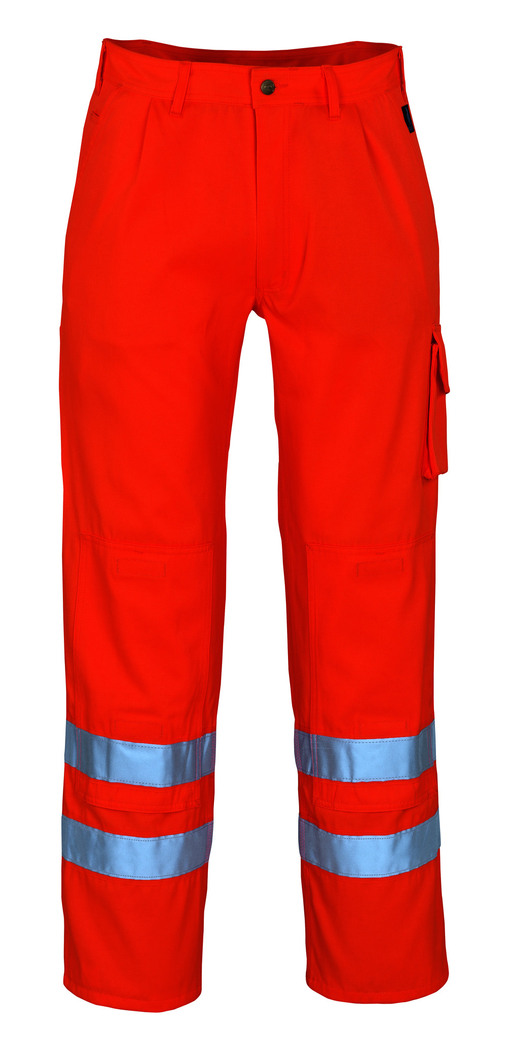 00479-860-14 Trousers with kneepad pockets - hi-vis orange