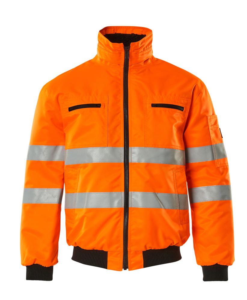 00534-880-14 Pilot Jacket - hi-vis orange