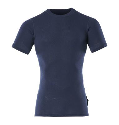00597-350-01 Functional Under Shirt, short-sleeved - navy