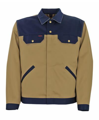 00709-430-5188 Jacket - khaki/navy/light grey
