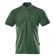 00783-260-03 Polo Shirt with chest pocket - green
