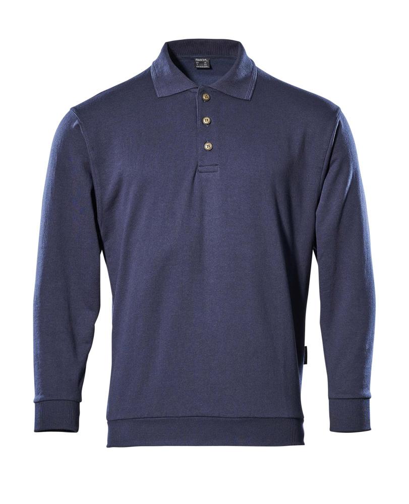 00785-280-01 Polo Sweatshirt - navy