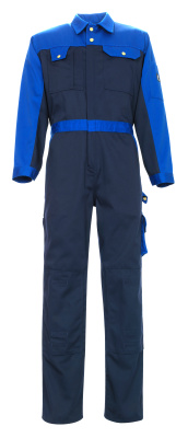 00919-430-111 Boilersuit with kneepad pockets - navy/royal