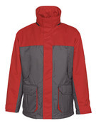 00930-650-88802 Parka Jacket - anthracite/red