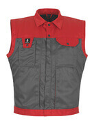 00989-620-88802 Winter Gilet - anthracite/red