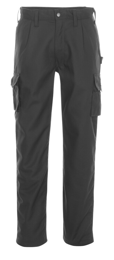 03079-010-09 Trousers with thigh pockets - black