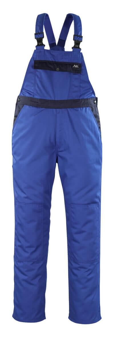 04569-800-1101 Bib & Brace with kneepad pockets - royal/navy