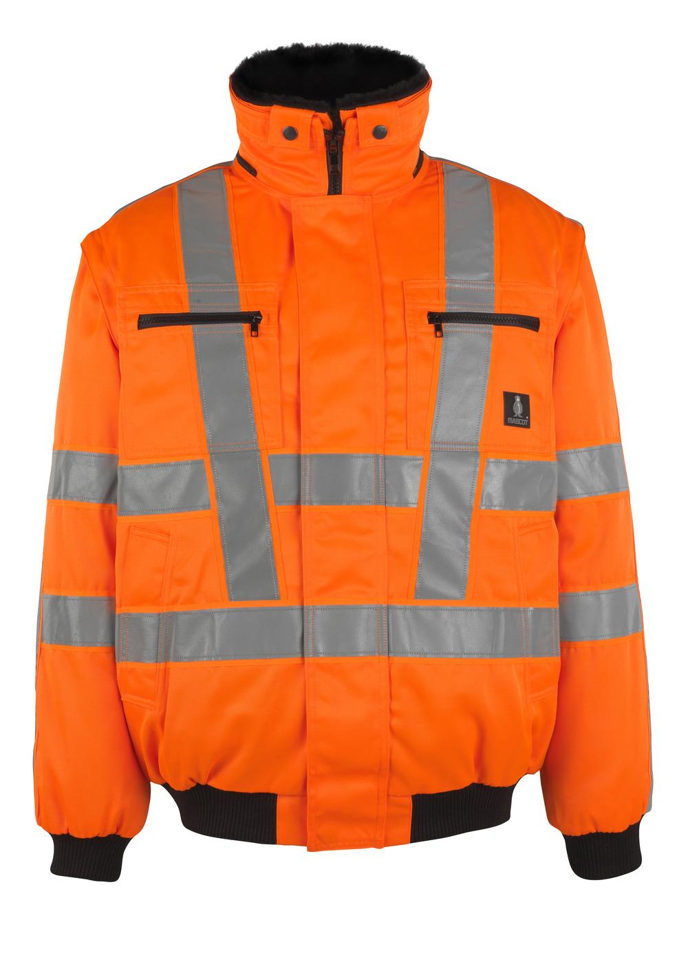 05020-660-14 Pilot Jacket - hi-vis orange