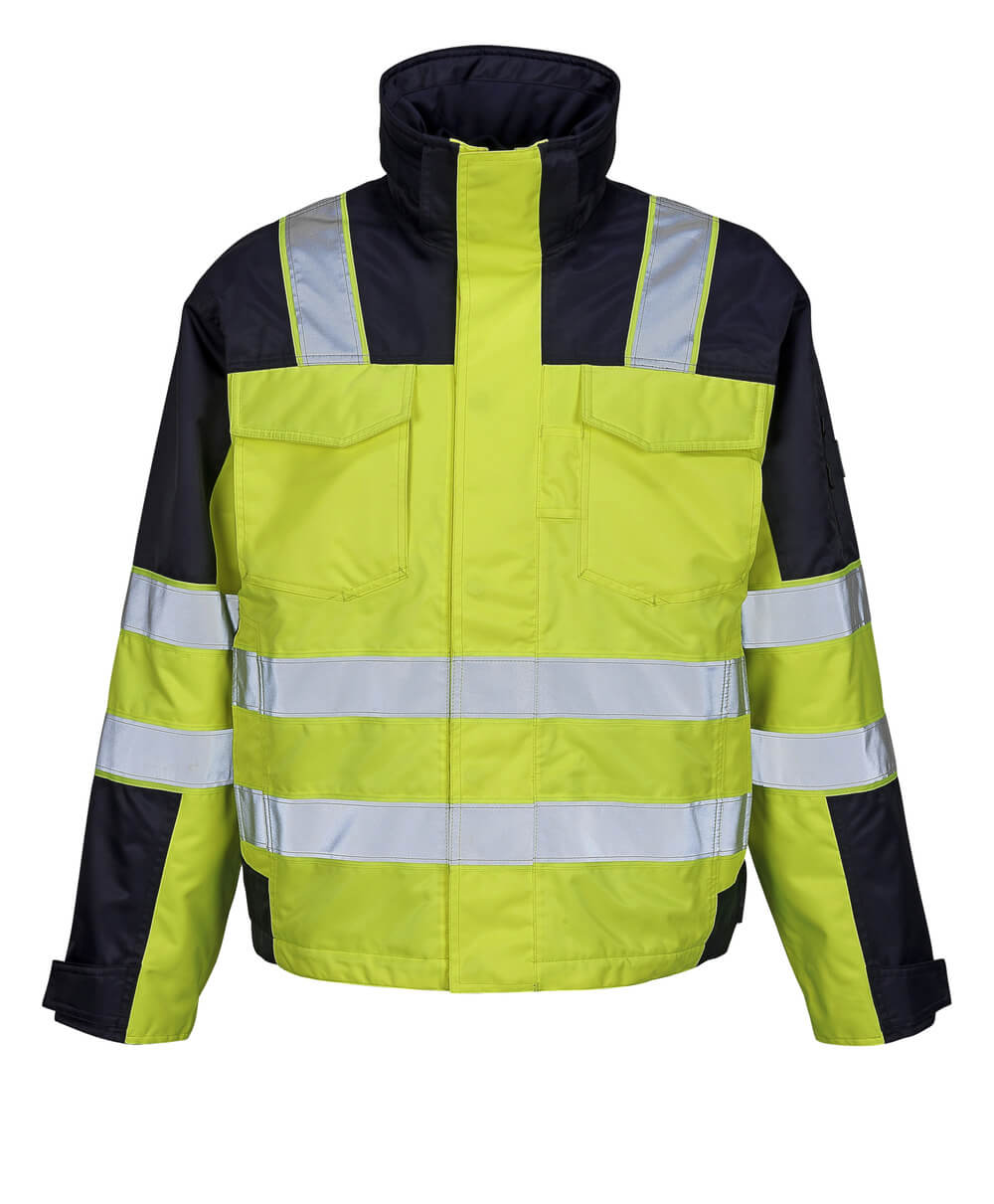 05023-880-171 Winter Jacket - hi-vis yellow/navy