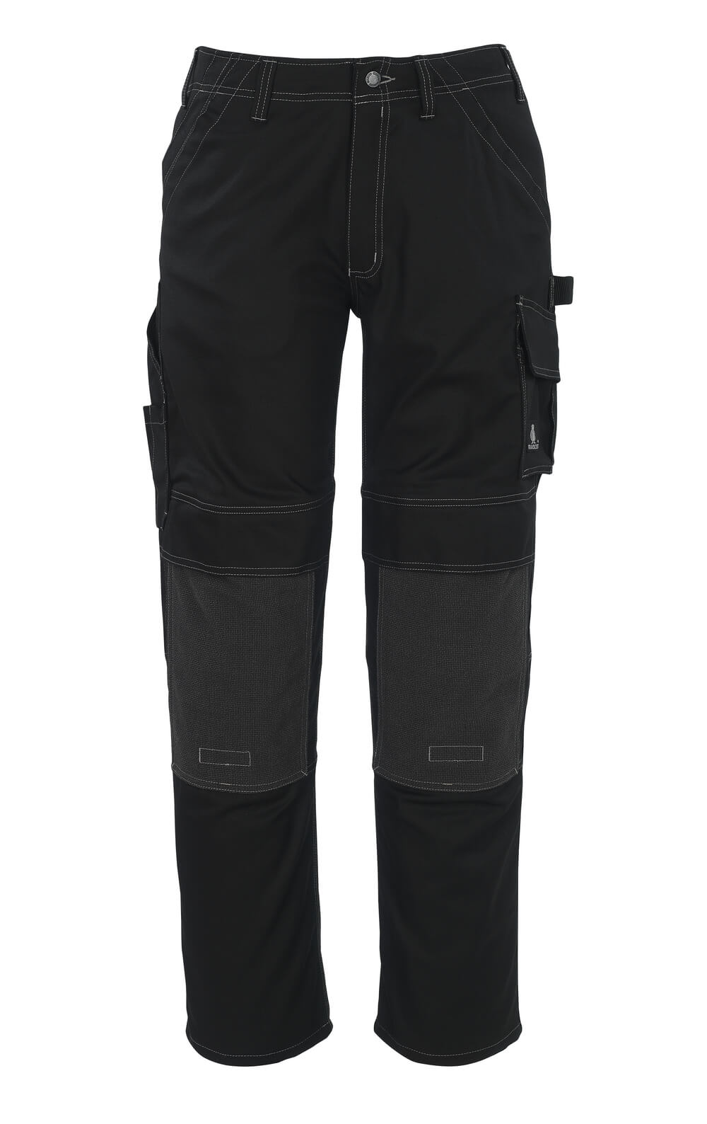05079-010-09 Trousers with kneepad pockets - black