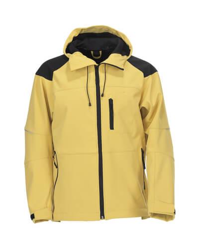 06001-138-70709 Softshell Jacket - traffic yellow/black