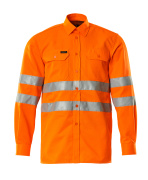 06004-136-14 Shirt - hi-vis orange