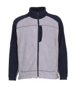 06042-137-881 Fleece Jacket - light grey/navy