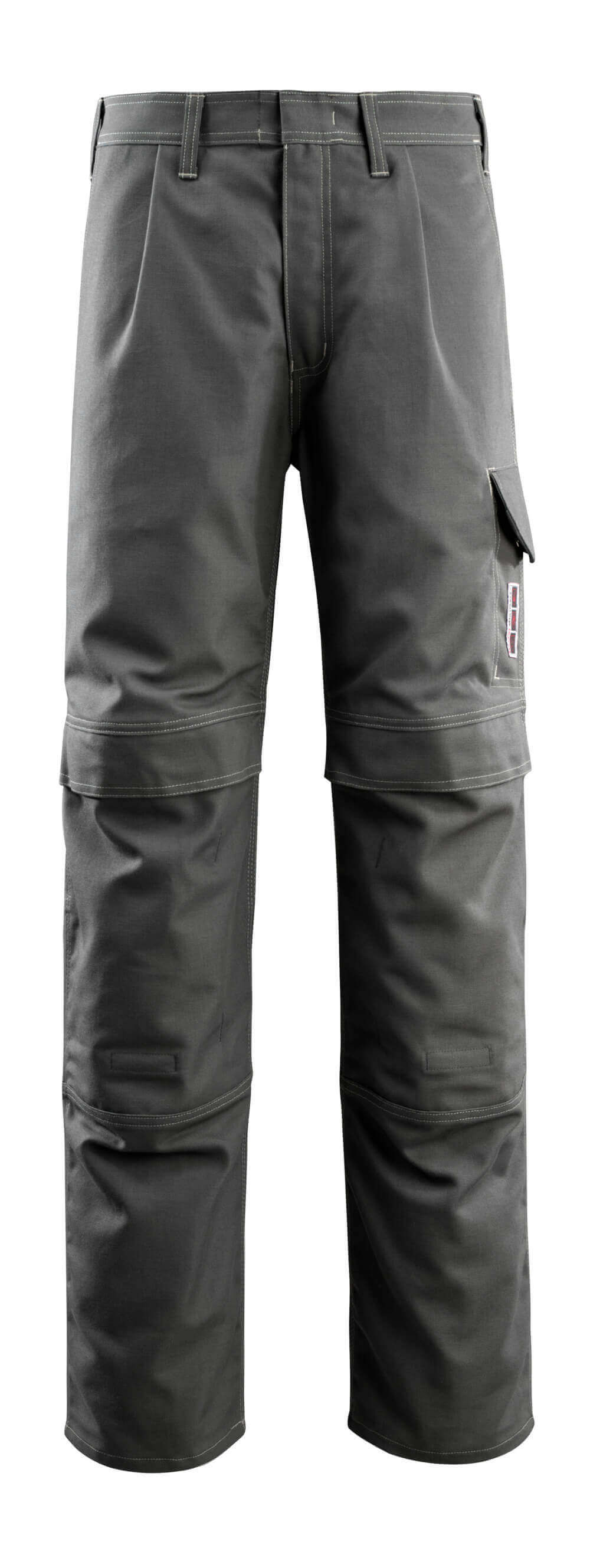 06679-135-18 Trousers with kneepad pockets - dark anthracite