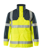 06831-064-171 Parka Jacket - hi-vis yellow/navy
