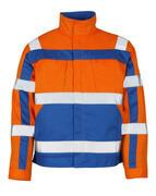 07109-860-1411 Jacket - hi-vis orange/royal