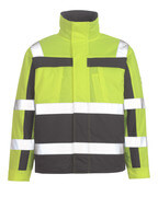07123-126-17888 Pilot Jacket - hi-vis yellow/anthracite
