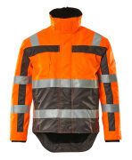 07223-880-14888 Winter Jacket - hi-vis orange/anthracite