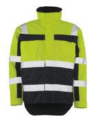 07223-880-171 Winter Jacket - hi-vis yellow/navy