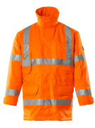 07930-880-14 Parka Jacket - hi-vis orange
