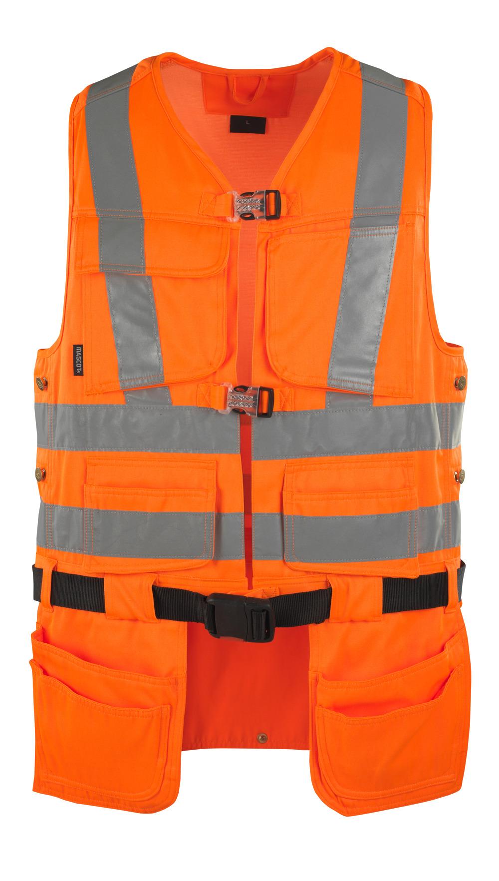 08089-860-14 Tool Vest - hi-vis orange