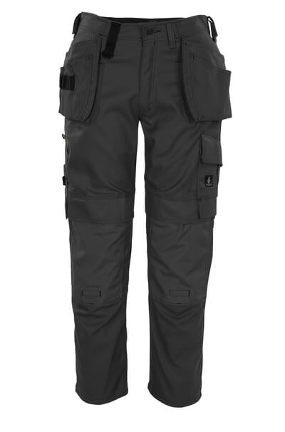 08131-010-01 Trousers with kneepad pockets and holster pockets - navy
