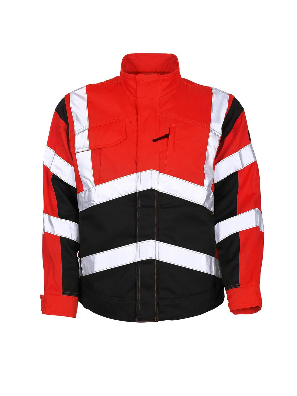 09009-860-A49 Jacket - hi-vis red/dark anthracite