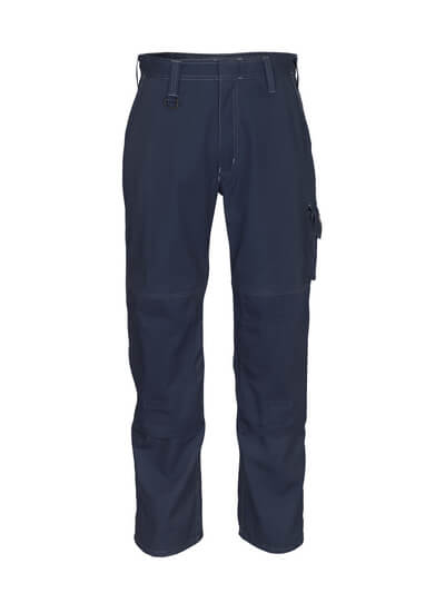 10579-442-010 Trousers with kneepad pockets - dark navy