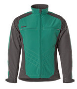 12002-149-0309 Softshell Jacket - green/black