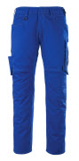 12079-203-11010 Trousers with thigh pockets - royal/dark navy