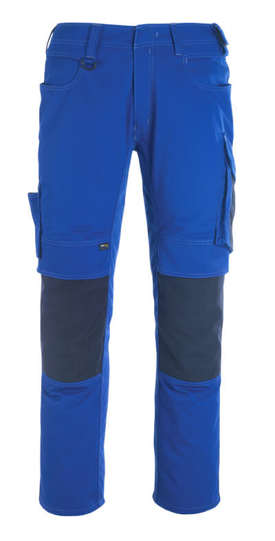 12179-203-0918 Trousers with kneepad pockets - black/dark anthracite