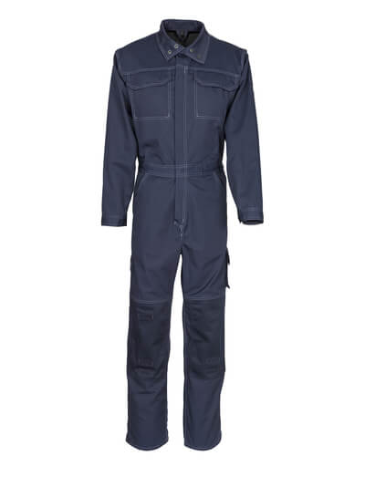 12311-630-010 Boilersuit with kneepad pockets - dark navy