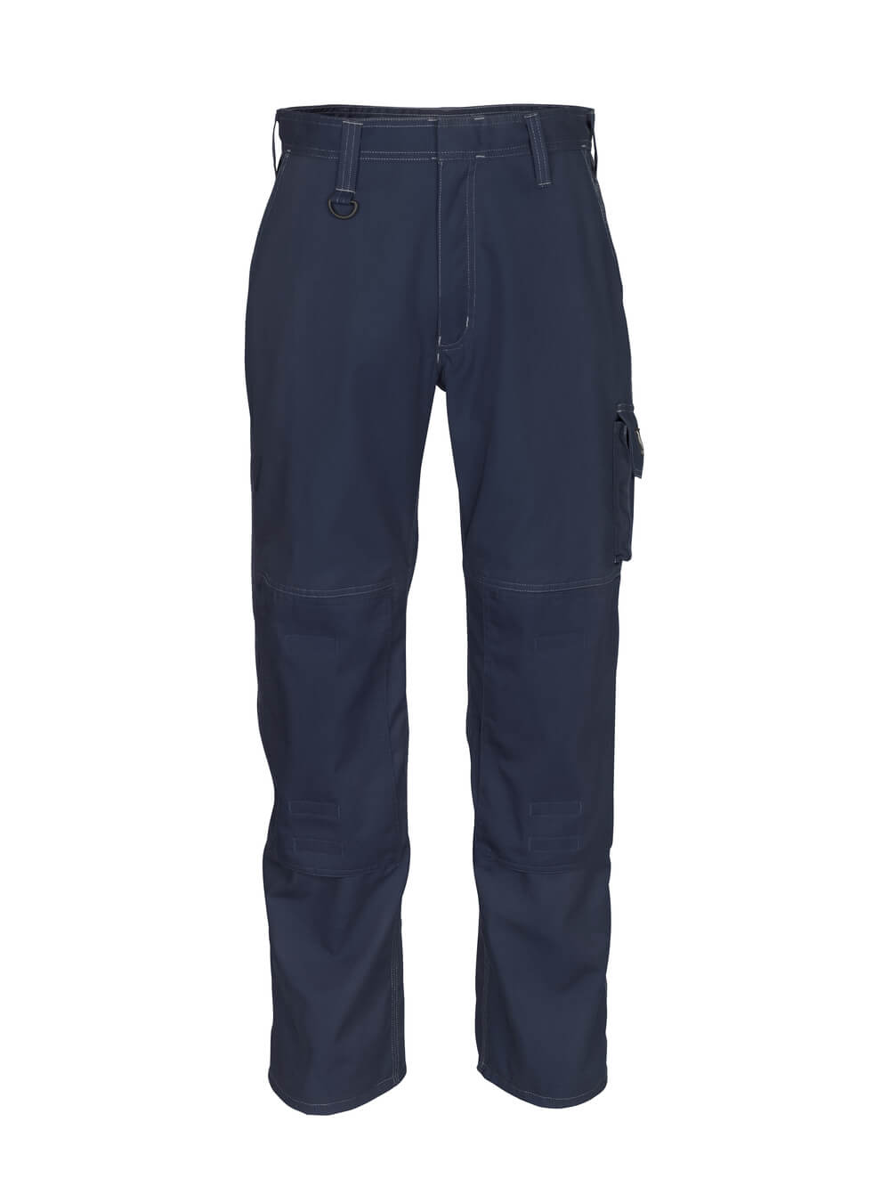 12355-630-010 Trousers with kneepad pockets - dark navy
