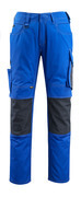 12679-442-11010 Trousers with kneepad pockets - royal/dark navy