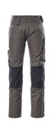 12679-442-1809 Trousers with kneepad pockets - dark anthracite/black