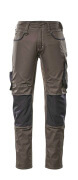 13079-230-1809 Trousers with kneepad pockets - dark anthracite/black