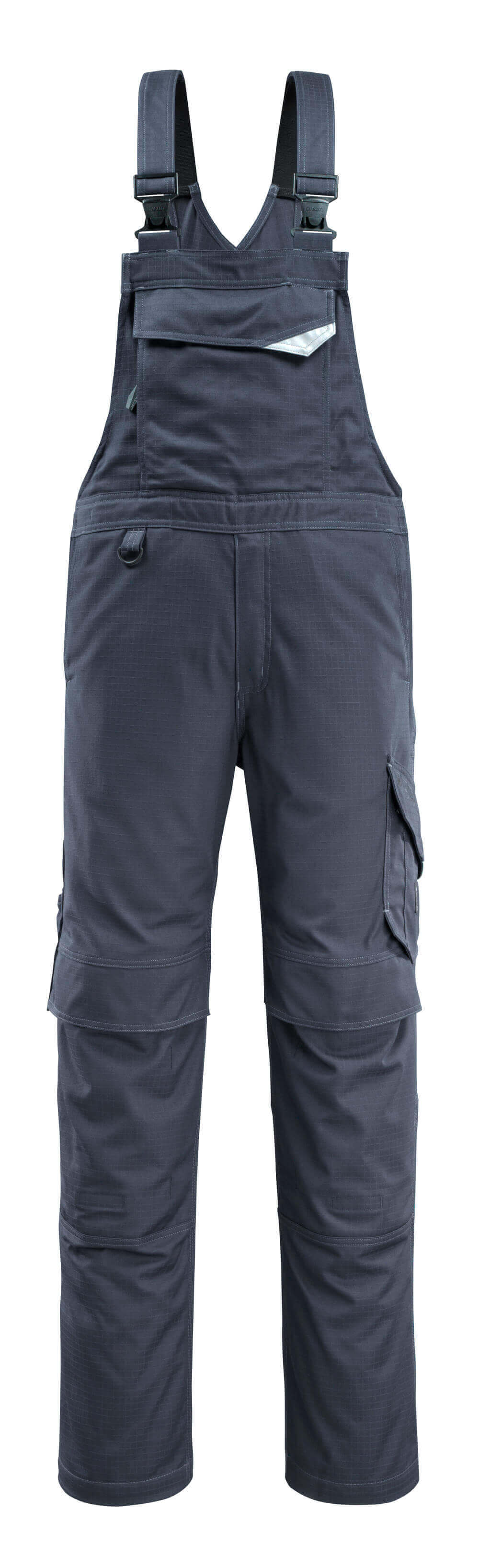 13669-216-010 Bib & Brace with kneepad pockets - dark navy