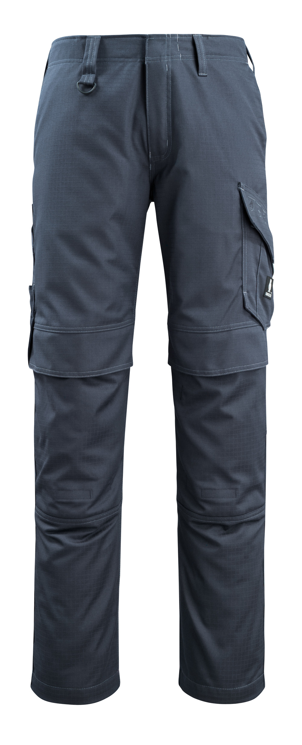 13679-216-010 Trousers with kneepad pockets - dark navy