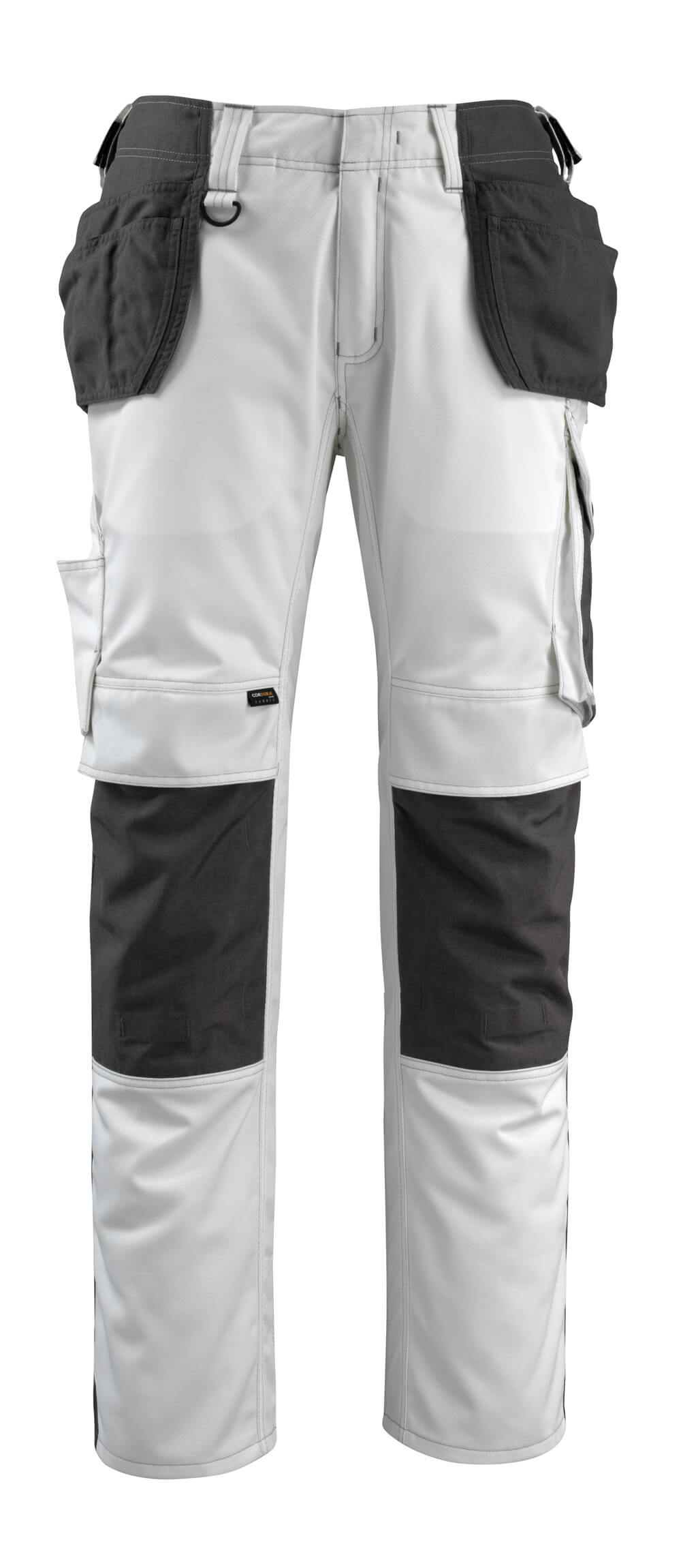 14031-203-0618 Trousers with holster pockets - white/dark anthracite