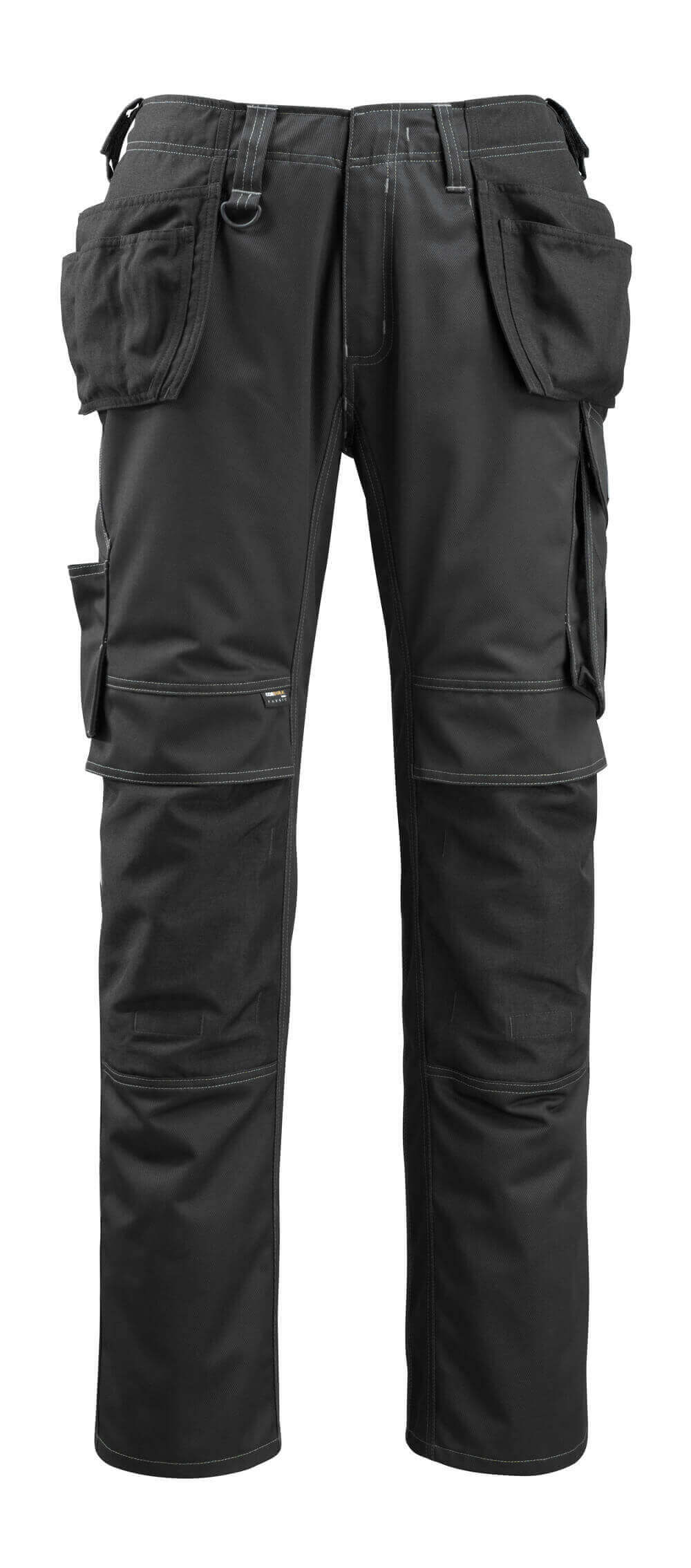 14131-203-09 Trousers with holster pockets - black