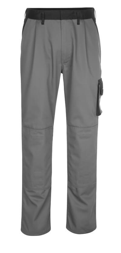 14179-442-8889 Trousers with kneepad pockets - anthracite/black