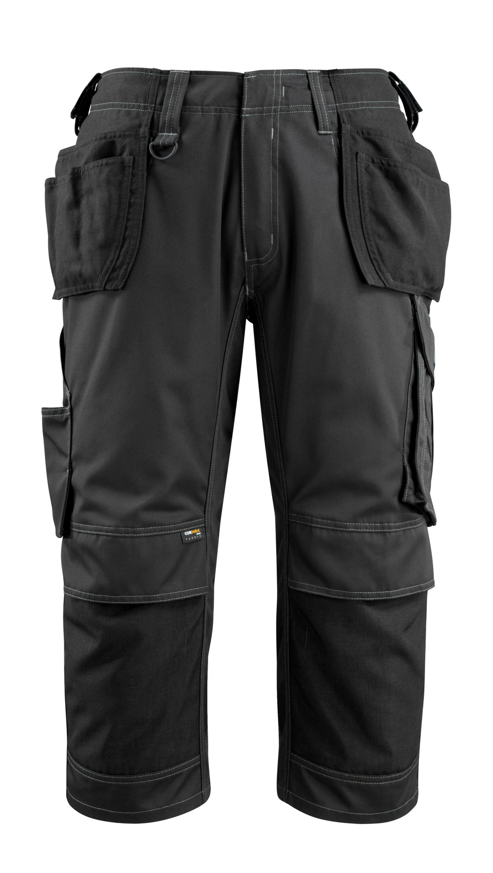 14449-442-09 ¾ Length Trousers with kneepad pockets and holster pockets - black