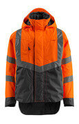 15501-231-1418 Outer Shell Jacket - hi-vis orange/dark anthracite