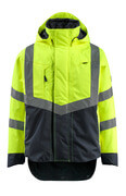 15501-231-17010 Outer Shell Jacket - hi-vis yellow/dark navy