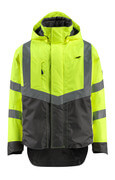 15501-231-1718 Outer Shell Jacket - hi-vis yellow/dark anthracite