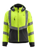 15502-246-1709 Softshell Jacket - hi-vis yellow/black