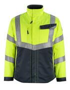 15509-860-17010 Jacket - hi-vis yellow/dark navy