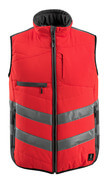 15565-249-22218 Winter Gilet - hi-vis red/dark anthracite