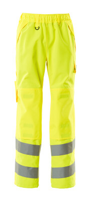 15590-231-14 Over Trousers with kneepad pockets - hi-vis orange