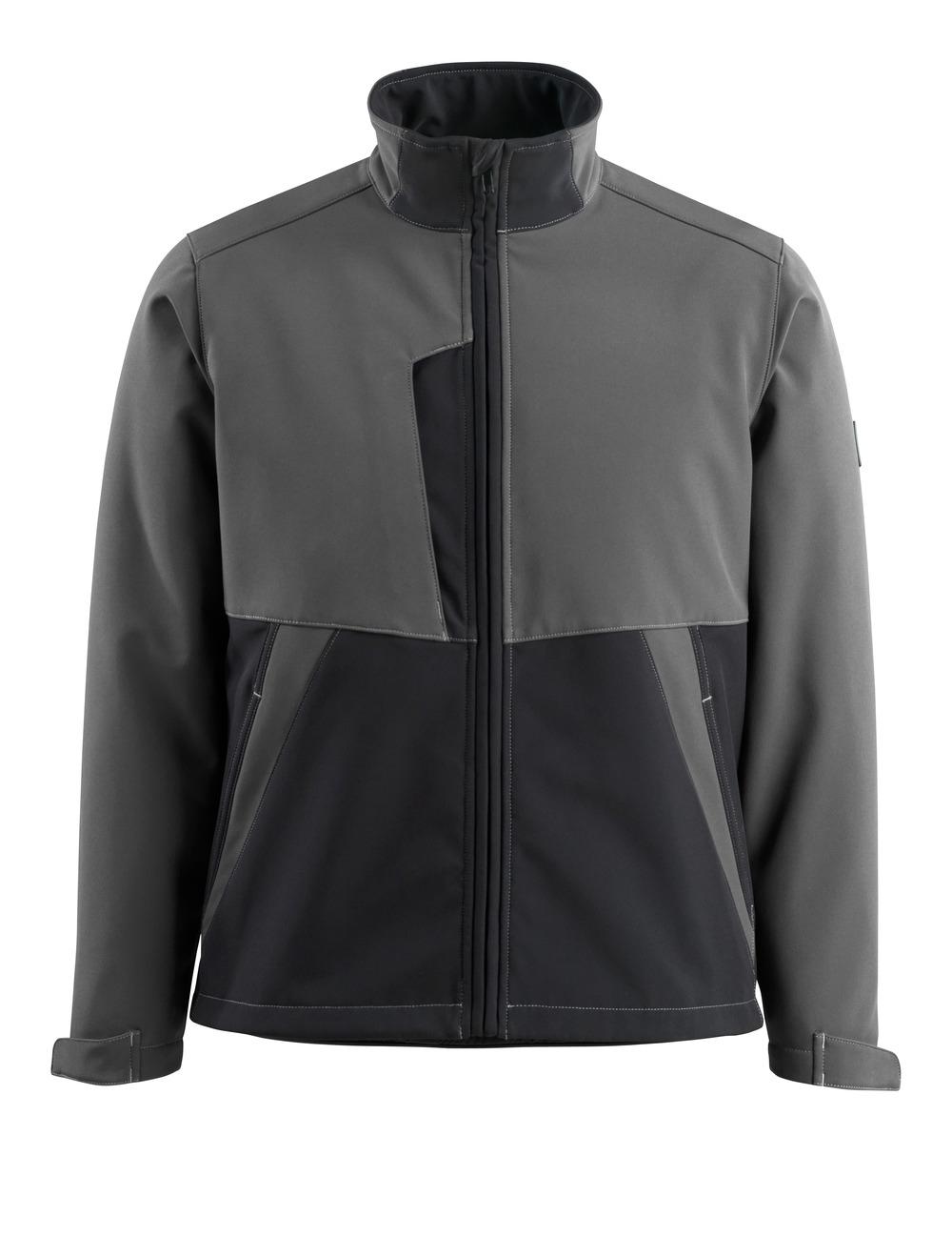 15702-253-1809 Softshell Jacket - dark anthracite/black